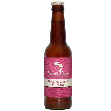 Snailsbank | Raspberry Ripple | Sweet Cider 4% 500ml
