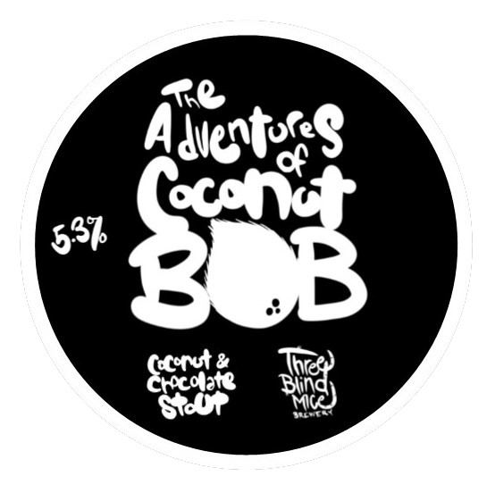 ON TAP Three Blind Mice | Adventures With Coconut Bob | Milk Stout 5.3% x1 Litre