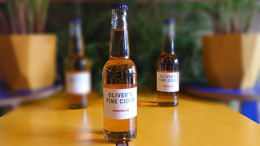 Oliver's | Pomona | Med Dry Cider 6.5% 330ml