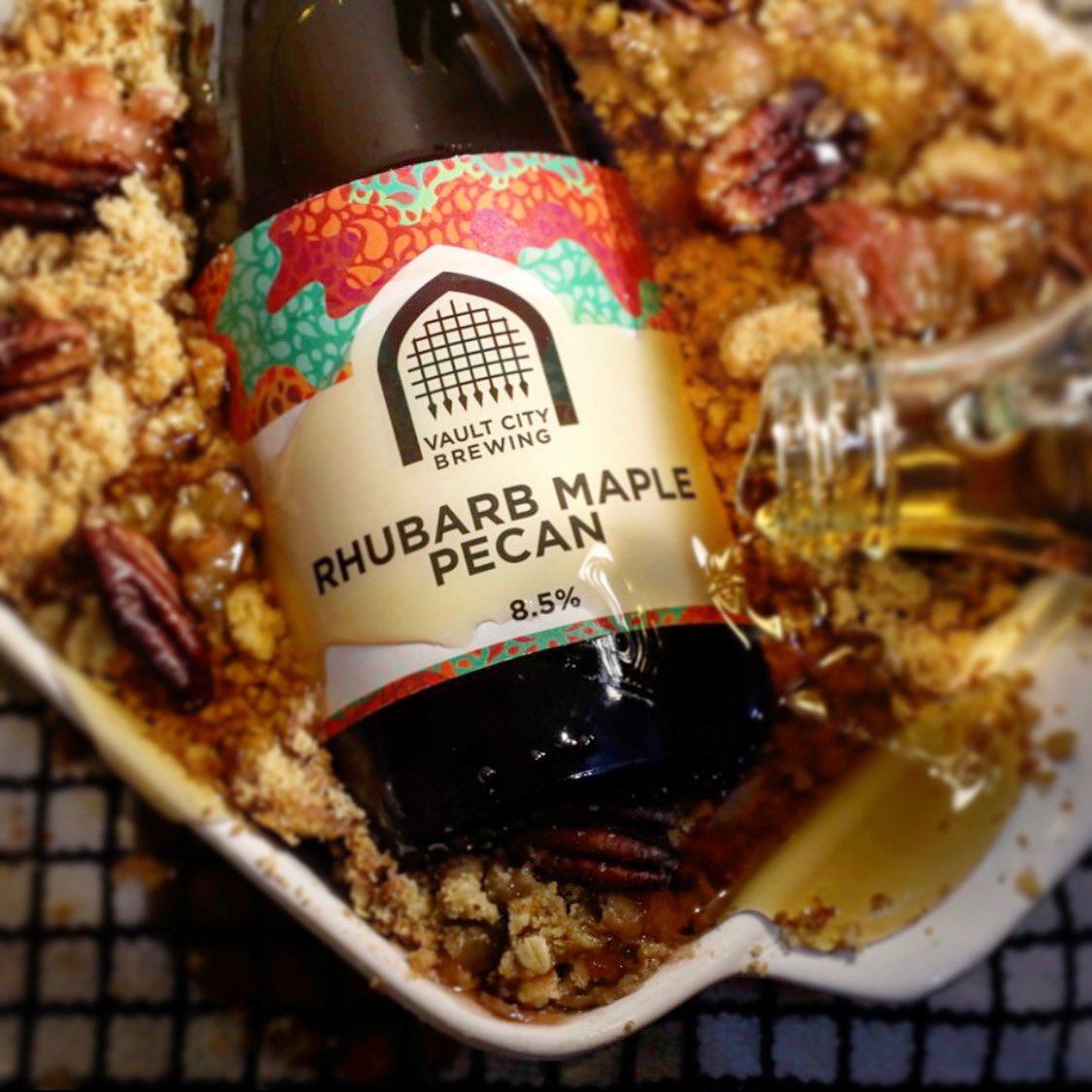 Vault City | Rhubarb Maple Pecan | Fruited Sour 8.5% 375ml