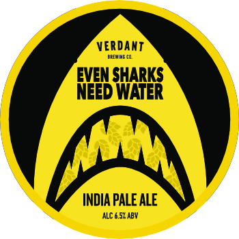 Verdant Brewing Co. | Even Sharks Need Water | IPA 6.5% 440ml
