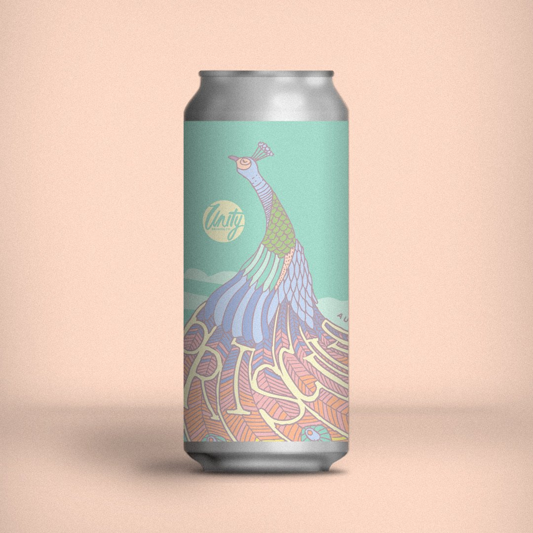 Unity Brewing Co. | Priscilla | Aussie Hopped Pilsner 4.8% 440ml
