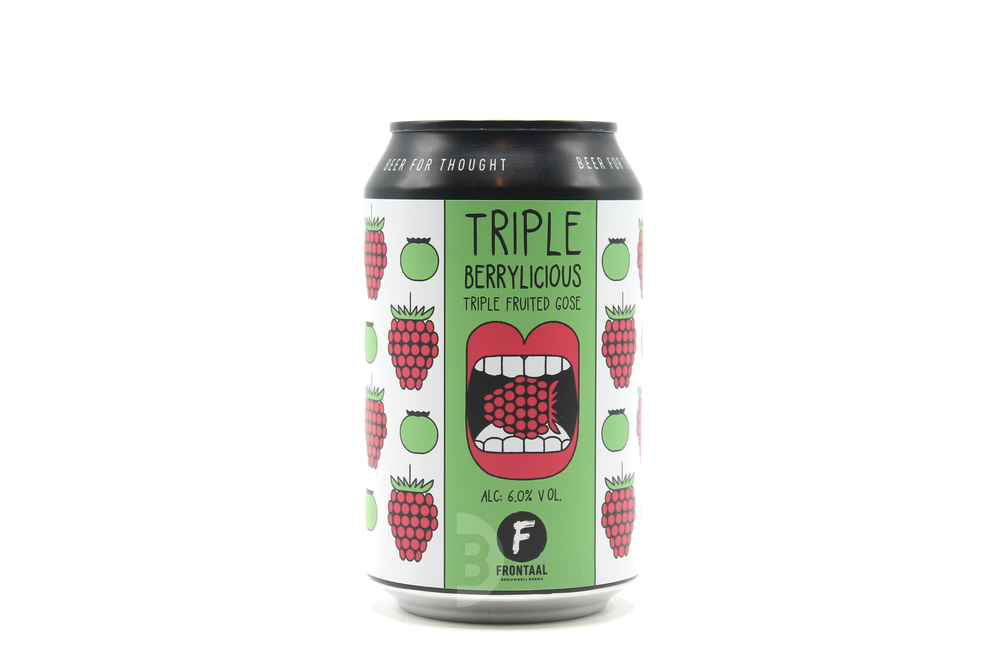 Frontaal | Triple Berrylicious | Triple Fruited Gose 6% 330ml