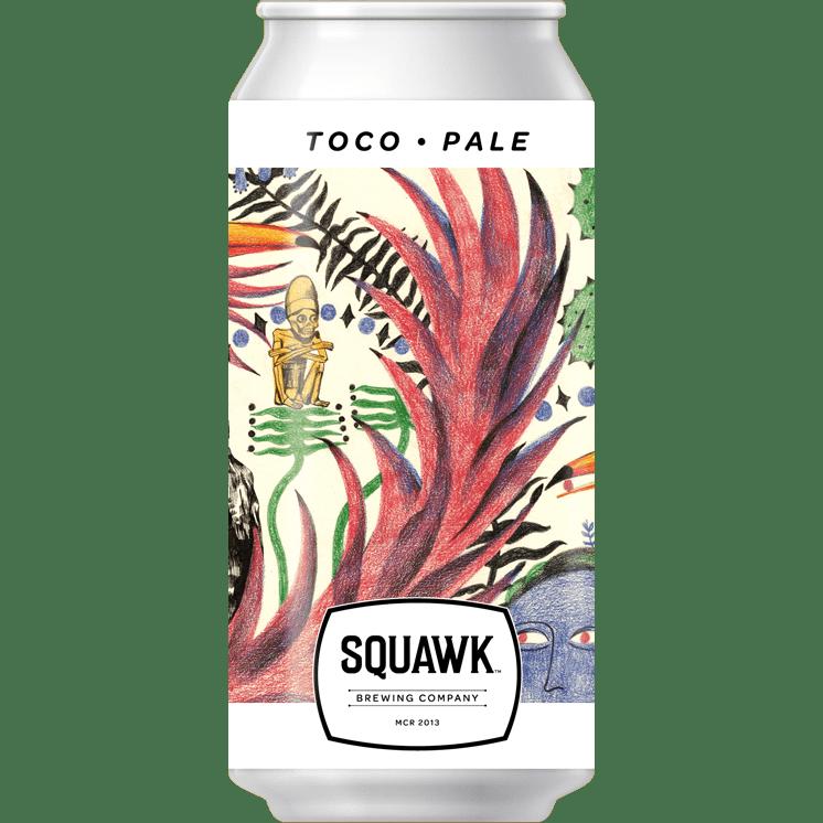 Squawk Brewing Company | Toco | Pale Ale 5% 440ml