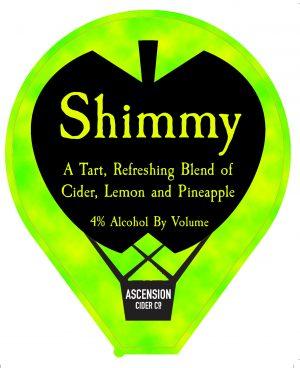 Ascension | Shimmy | Lemon and Pineapple Cider 4% 330ml