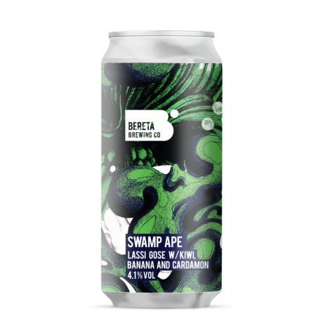Bereta | Swamp Ape | Kiwi, Banana & Cardamon Lassi Gose 4.1% 440ml