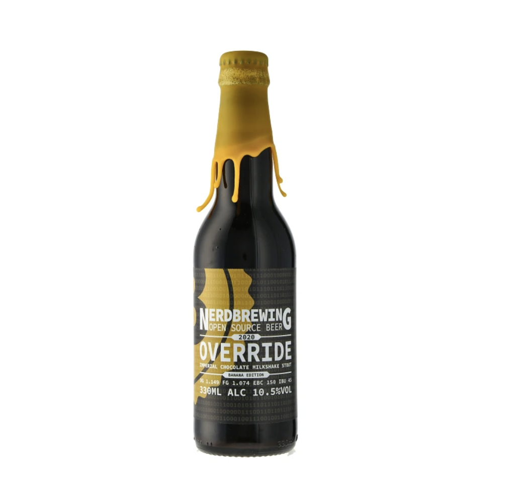 NerdBrewing | Override Imperial Chocolate Milkshake Stout - Banana Edition 10.5% 330ml