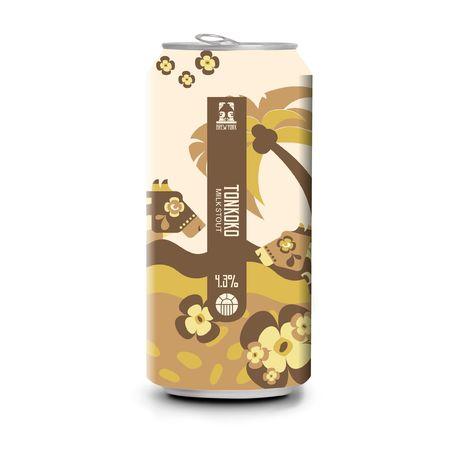 Brew York | Tonkoko | Coconut, Tonka, Cacao & Vanilla Milk Stout 4.3% 440ml