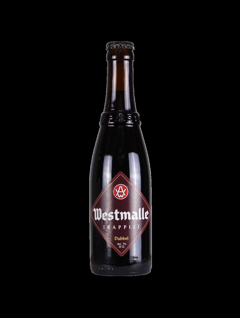 Westmalle Dubbel   Belgian Trappist Dubbel 7% 330ml