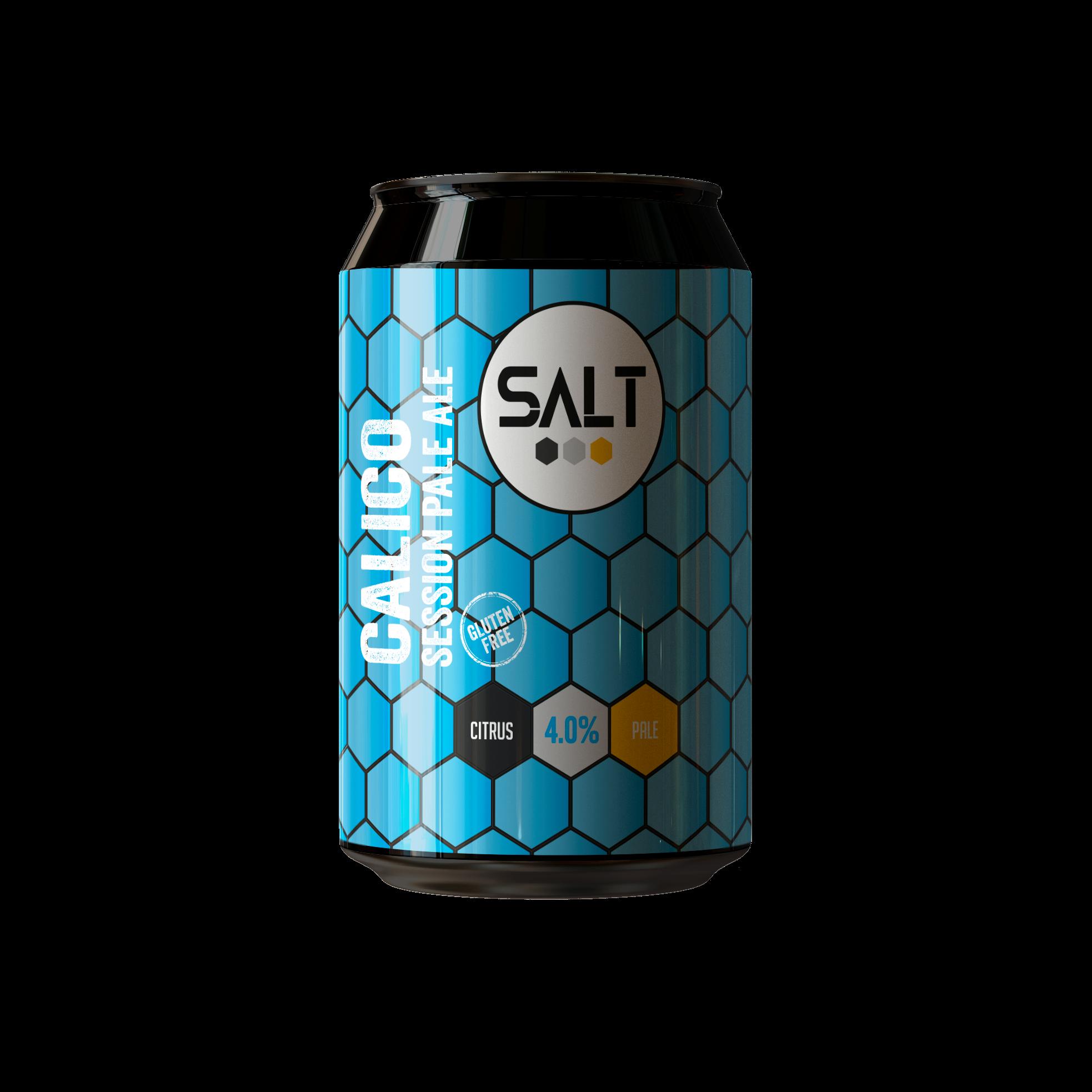 Salt | Calico | Gluten Free Session Pale Ale 4.0% 330ml
