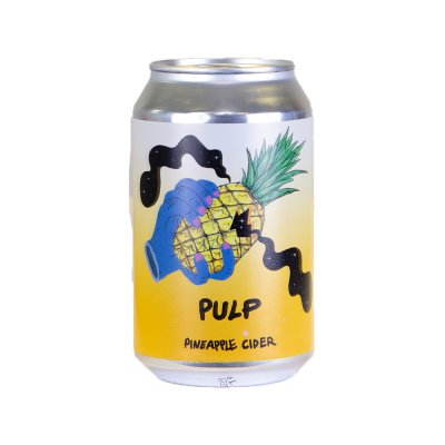 Lervig | Pulp | Pineapple Cider 4.7% 330ml