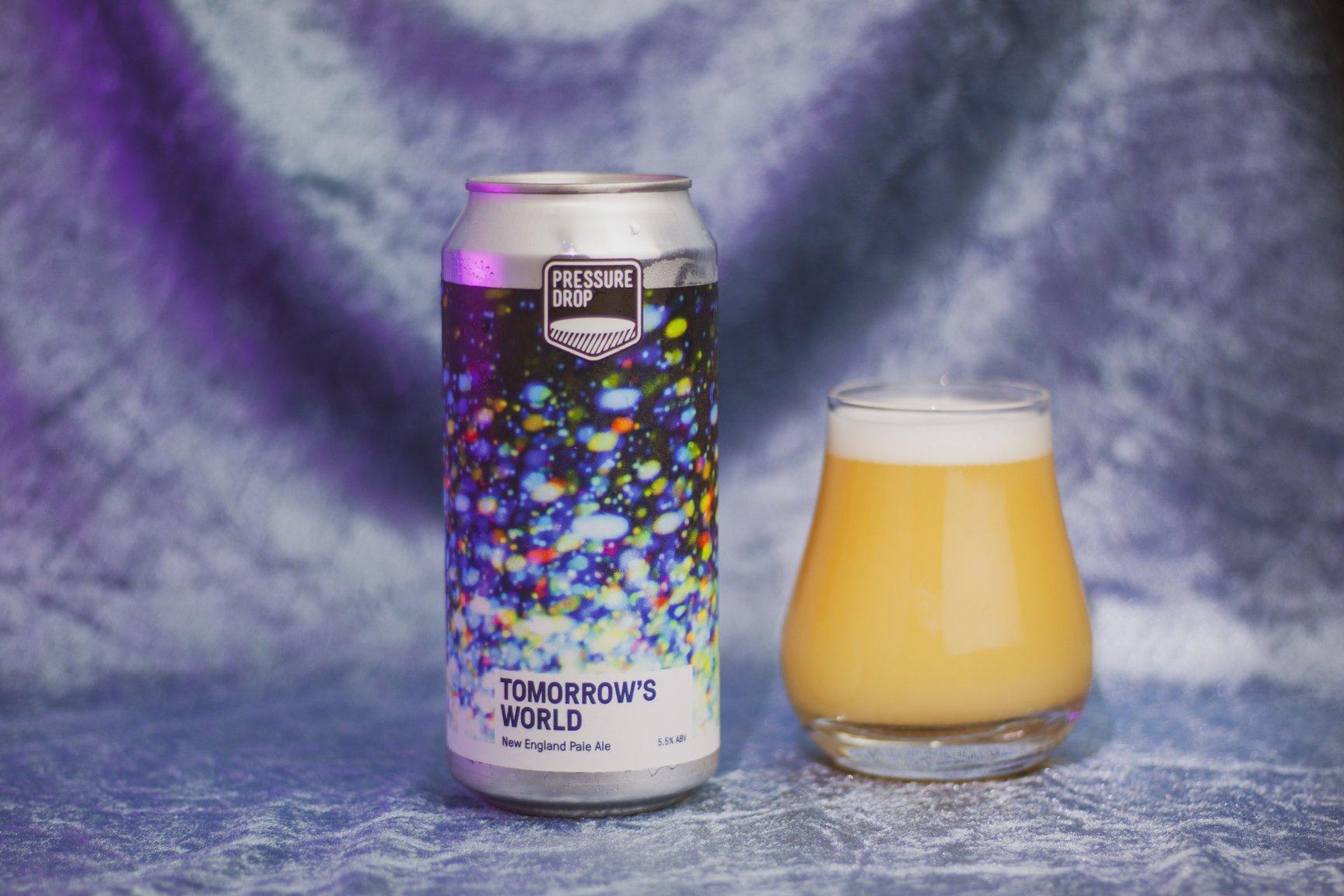 Pressure Drop | Tomorrow's World | New England Pale 5.5% 440ml