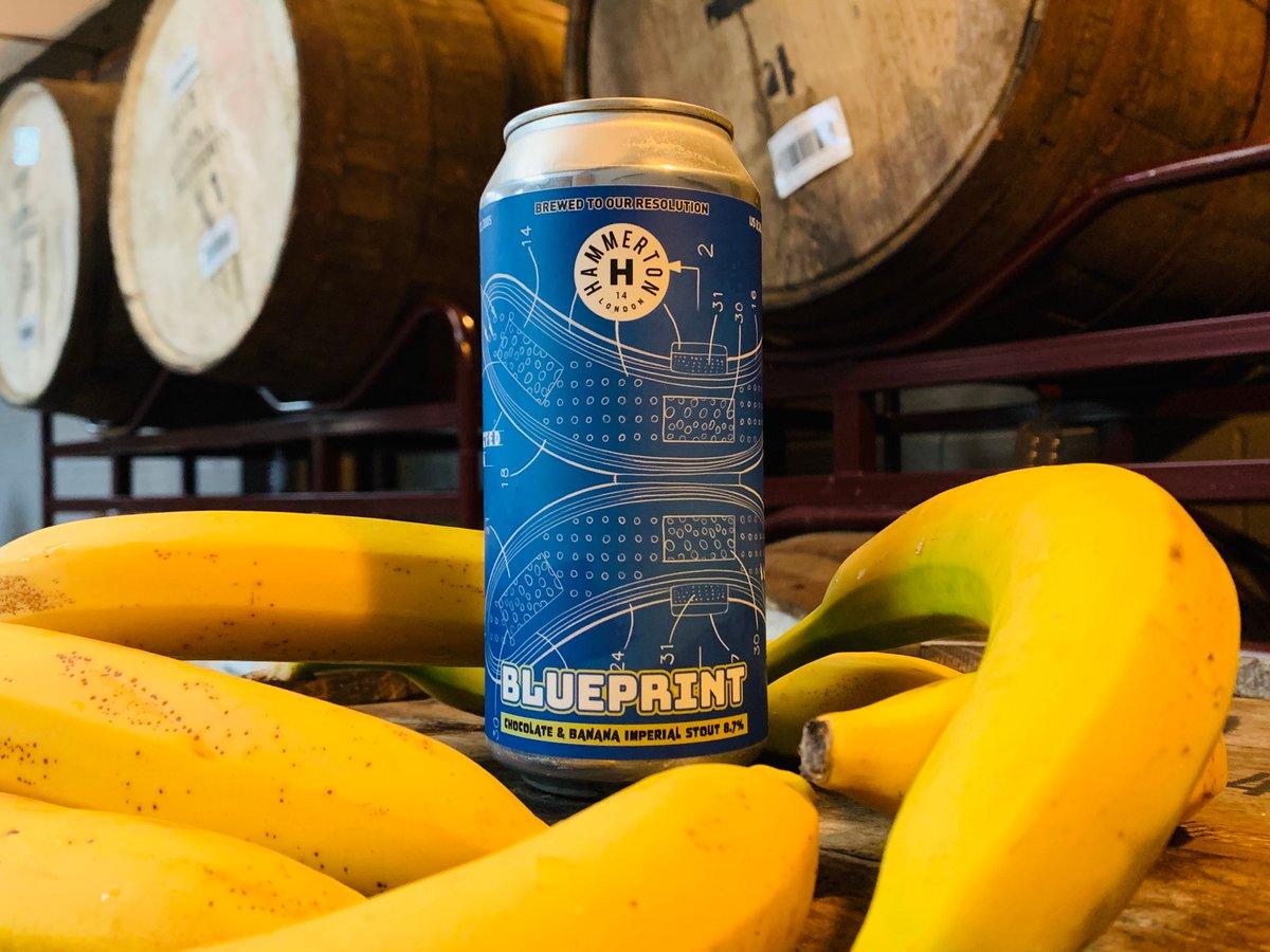 Hammerton | Blueprint | Chocolate & Banana Imperial Stout 8.7% 440ml
