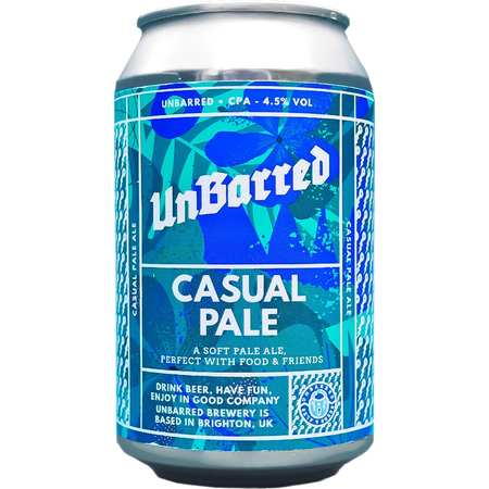 Unbarred | Casual Pale | 4.5% 330ml