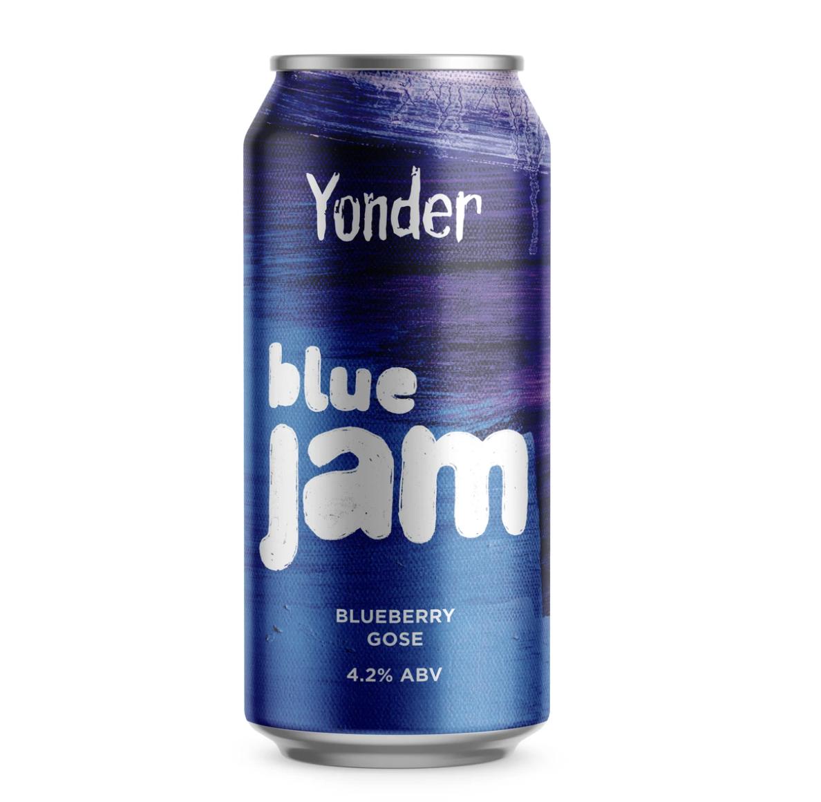 Yonder | Blue Jam | Blueberry Gose 4.9% 440ml
