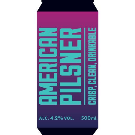 Marble | American Pilsner | 4.2% 500ml
