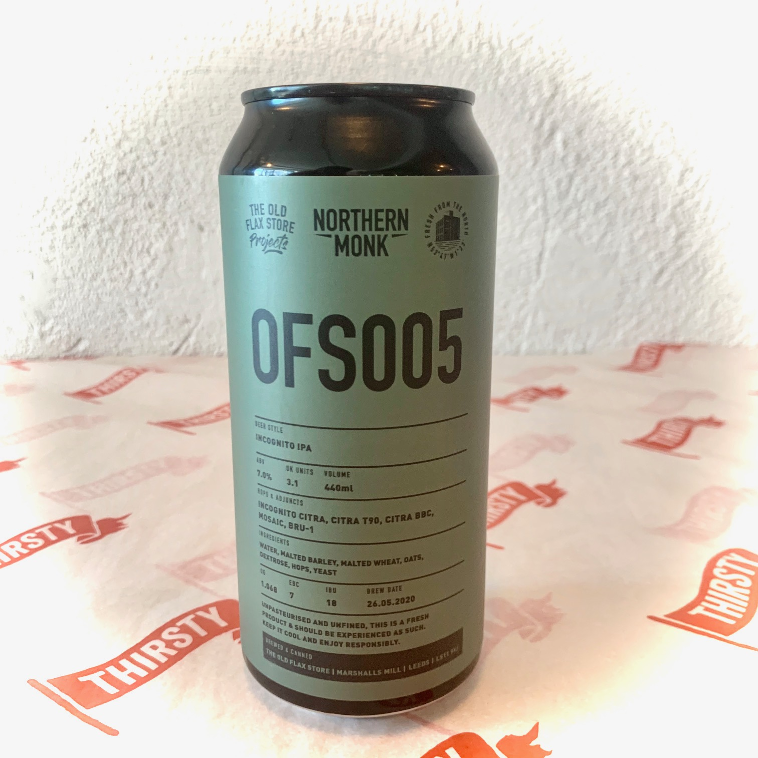 Northern Monk | OFS005 | IPA 7% 440ml