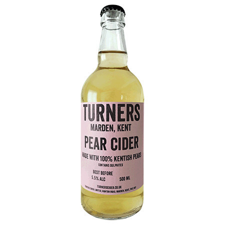 Turners | Pear Cider | 5.5% 500ml