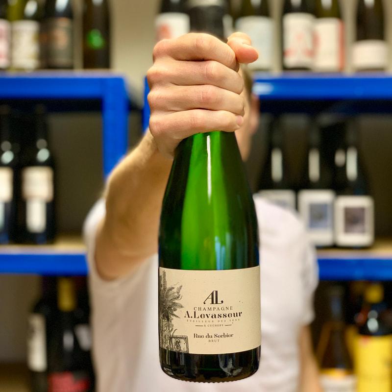 Rose Champagne A. Levasseur Rue du Sorbier Brut NV