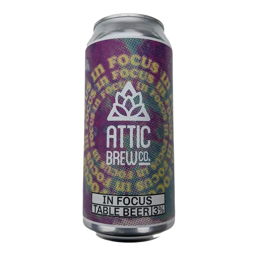 Attic Brew Co. | In Focus | Table Beer 3% 440ml