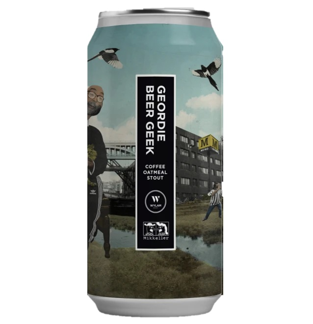 Wylam x Mikkeller | Geordie Beer Geek | Coffee Oatmeal Stout 7/5% 440ml
