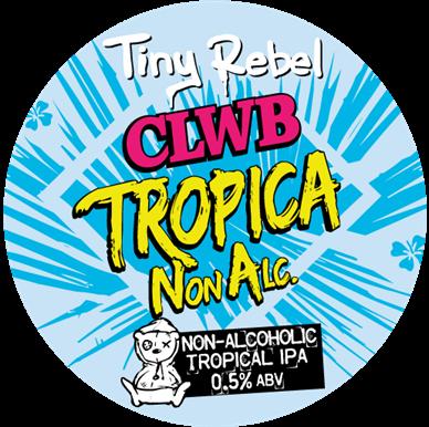 ON TAP Tiny Rebel | Clwb Tropica-na | 0.5% x 1Litre