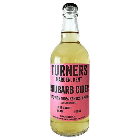 Turners | Rhubarb Cider | 4% 500ml