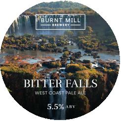 ON TAP Burnt Mill Bitter Falls West Coast IPA 5.5% x 1 LITRE