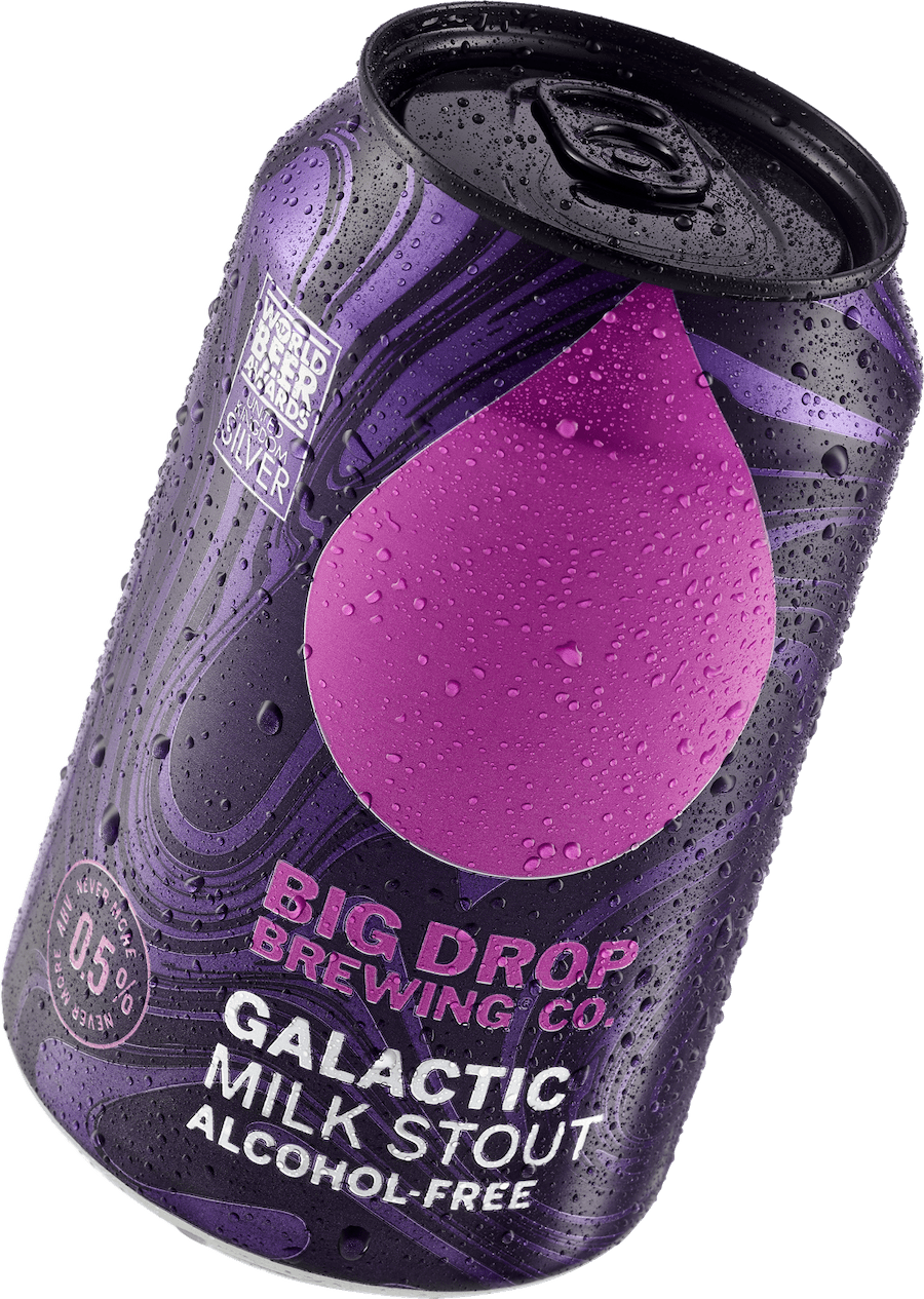 Big Drop   Galactic Milk Stout Non Alc 0.5% 330ml