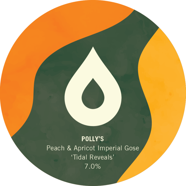 ON TAP Polly's | Tidal Reveals | Peach and Apricot Imperial Gose 7% x1 Litre