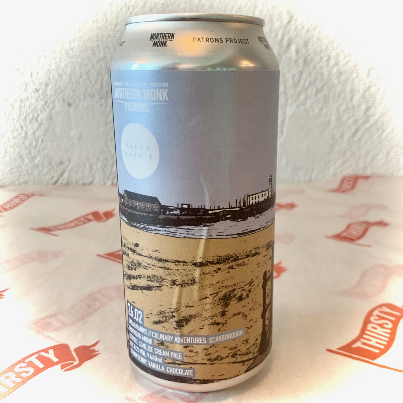 Northern Monk | Scarborough Double Cone Ice Cream Pale | 8.2% 440ml