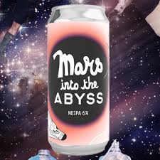 Abyss Brewing x St Mars Of The Desert | Mars Into the Abyss | NEIPA 6% 440ml