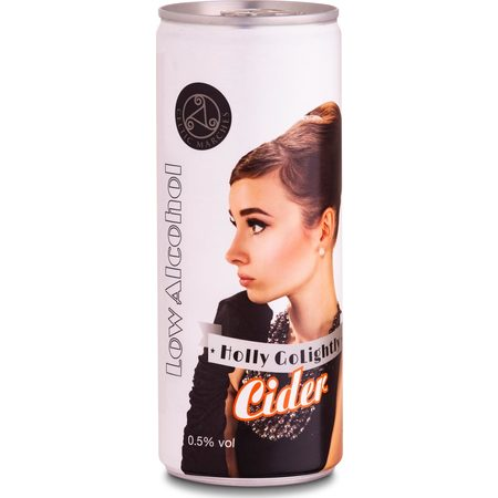 Celtic Marches | Holly Go Lightly | Non Alc Cider 0.5% 250ml