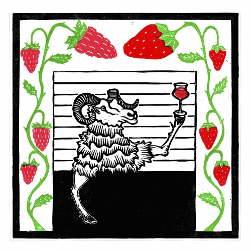 ON TAP Pastore | Strawberry and Raspberry Waterbeach Weisse | Fruit Sour 3.8% x1 litre