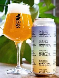 To Ol | When Life Gives You Mango Make Milkshake IPA! | Milkshake IPA 6.6% 440ml