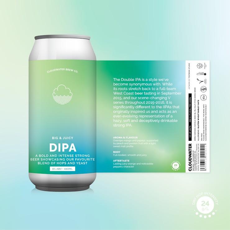 Cloudwater | DIPA | 8% 440ml