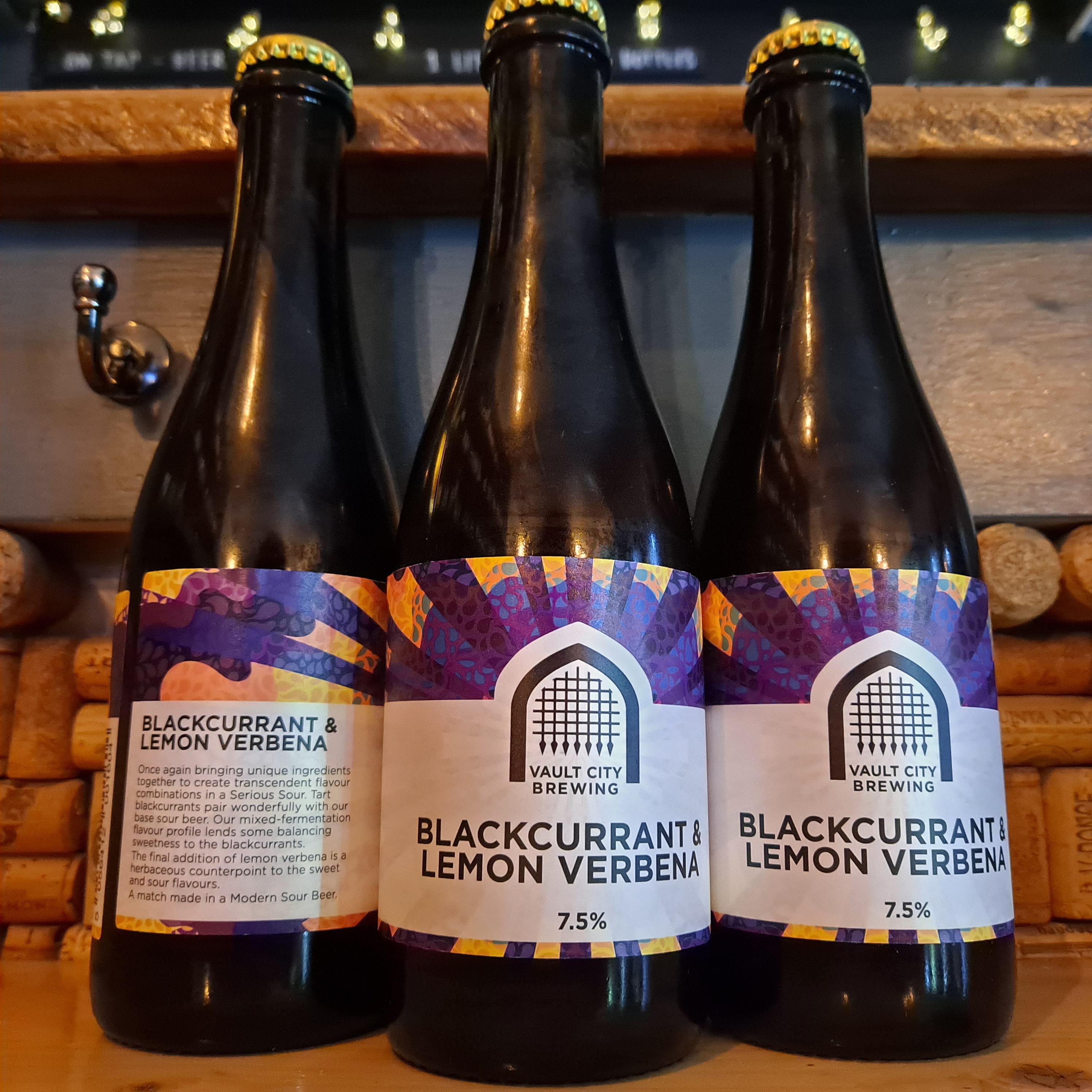 Vault City | Blackcurrant Lemon Verbena Sour | Modern Sour 7.5% 375ml