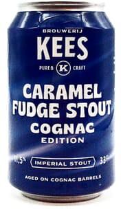 Kees | Caramel Fudge Stout BA Cognac Edition| Barrel Aged Imperial Stout  11.5% 330ml