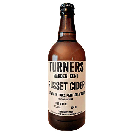 Turner's | Russet | Dry, Still Cider 8% 500ml