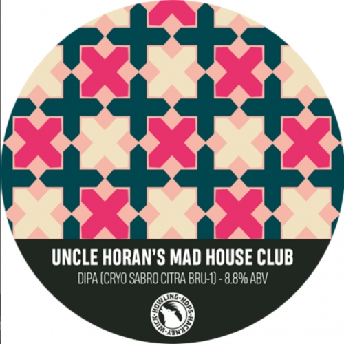 ON TAP Howling Hops | Uncle Horan's Mad House Club | DIPA 8.3% x1 litre