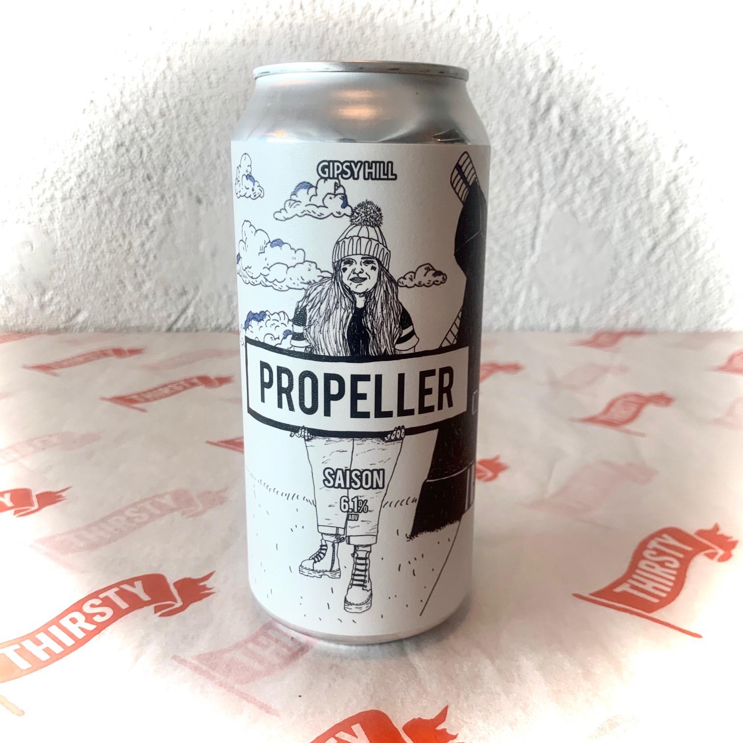 Gipsy Hill | Propeller | Saison 6% 440ml