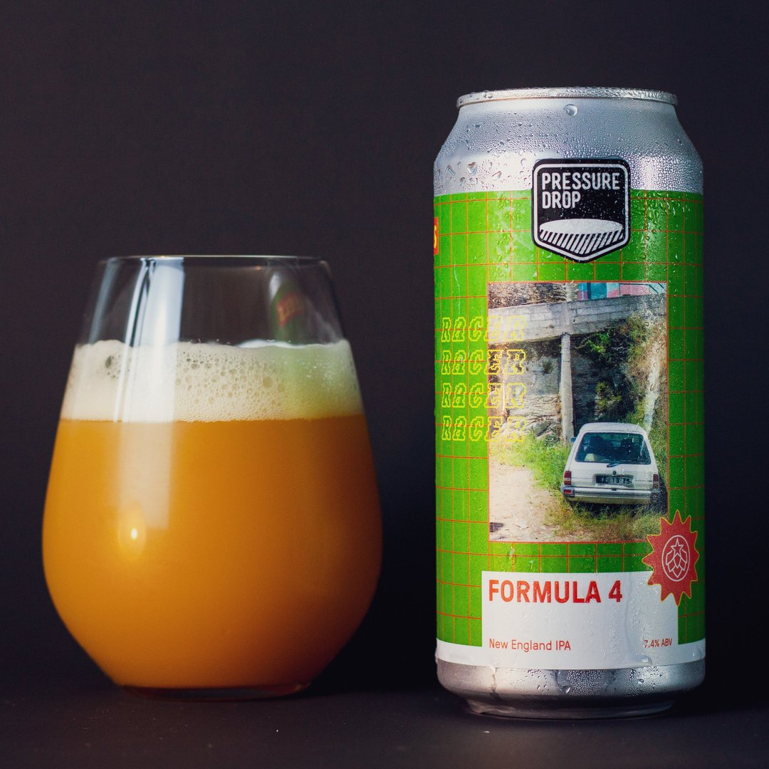 Pressure Drop | Formula 4 | Citra & Azacca NEIPA 7.4% 440ml