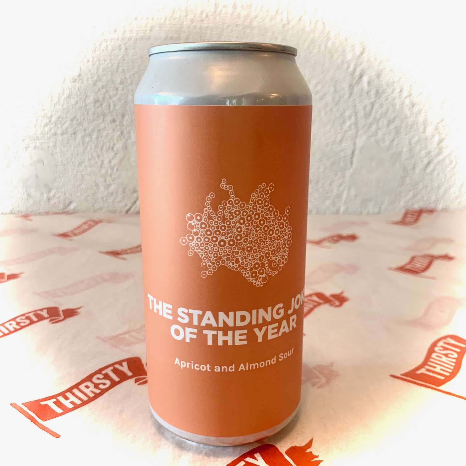 Pomona Island | THE STANDING JOKE OF THE YEAR | Apricot and Almond Sour 6.5% 440ml