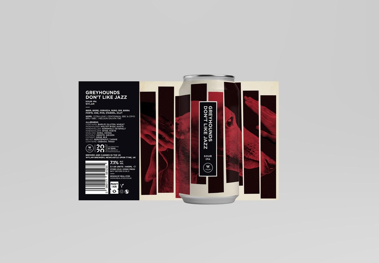 Wylam Brewery | Greyhounds Don't Like Jazz | Sour IPA 7.1% 440ml