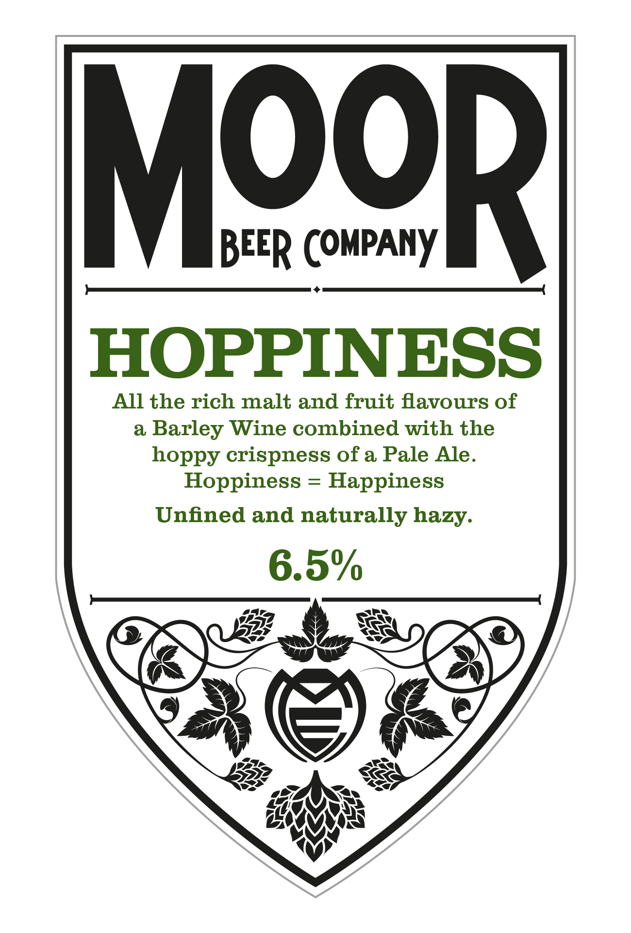 ON TAP Moor | Hoppiness | IPA 6.5% x 1 LITRE