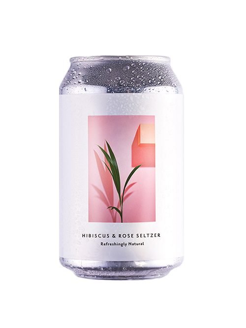 Something & Nothing Hibiscus & Rose Seltzer