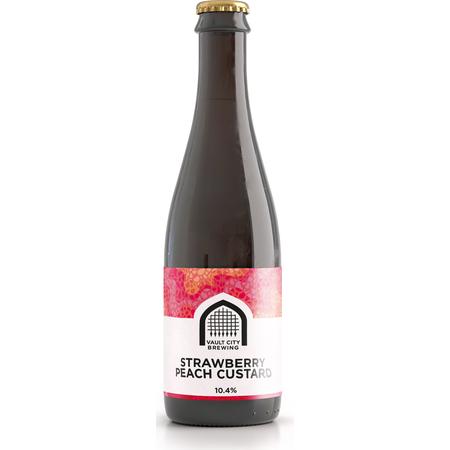 Vault City | Strawberry Peach Custard Sour 10.4% 375ml