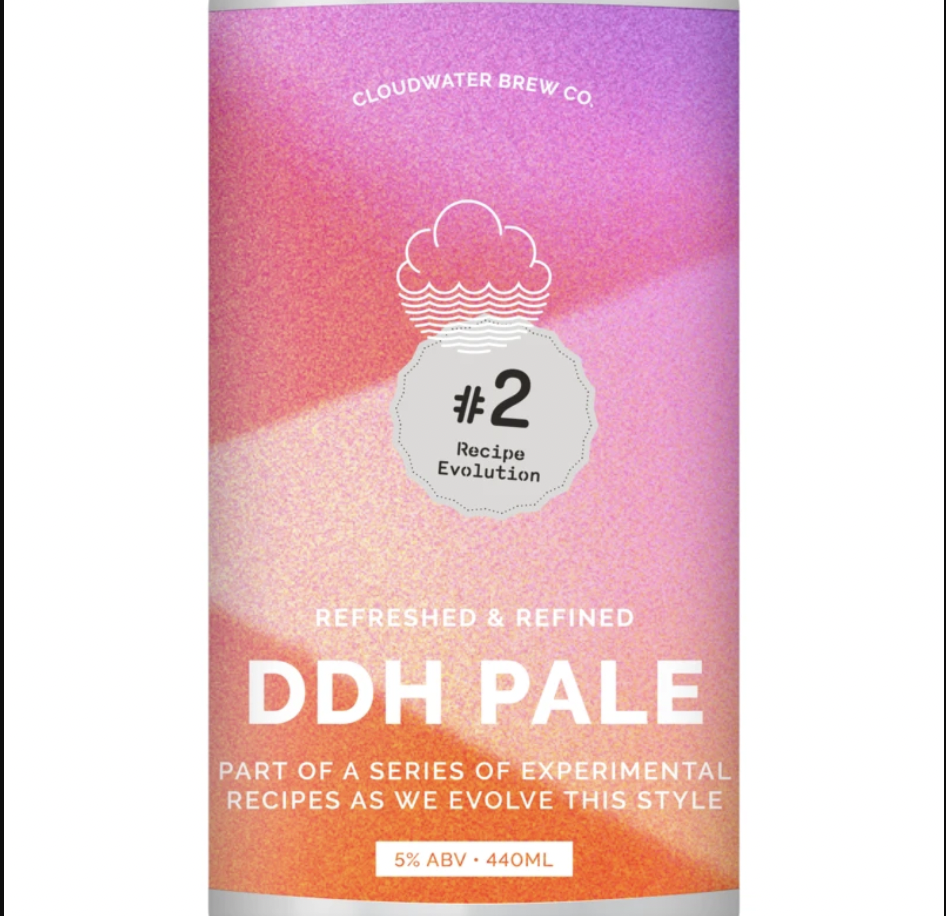 Cloudwater | DDH Pale Recipe Evolution #2 | Double Dry Hopped Pale Ale 5% 440ml