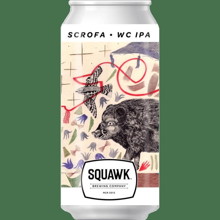 Squawk Brewing Company | Scrofa | West Coast IPA 6.5% 440ml