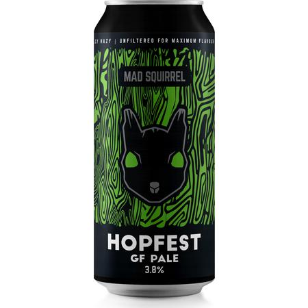 Mad Squirrel | GF Hopfest | Gluten Free Session Pale Ale 3.8% 440ml